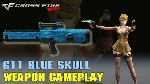 CrossFire - G11 Blue Skull - Weapon Gameplay