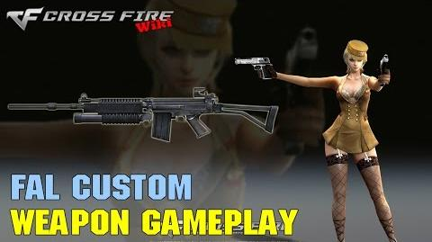CrossFire - FAL Custom - Weapon Gameplay