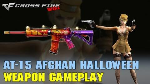 CrossFire - AT-15 Afghan Halloween - Weapon Gameplay