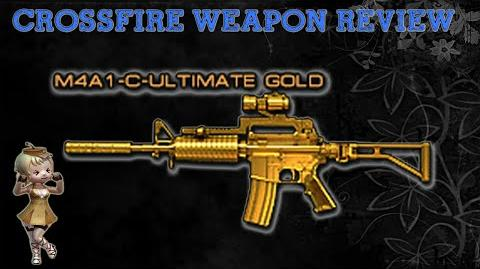 CrossFire China - M4A1-Custom Ultimate Gold -Review-!