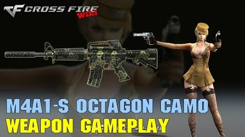 CrossFire - M4A1-S Octagon Camo - Weapon Gameplay