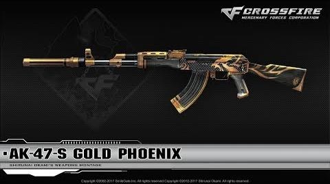 CrossFire China 2.0 AK-47-S Gold Phoenix ☆-0