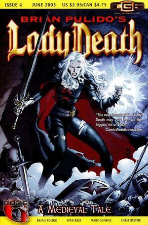 Brian Pulido's Lady Death A Medieval Tale Vol 1 4