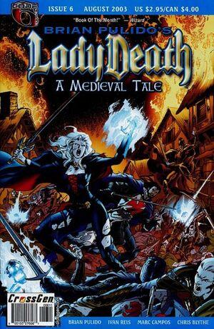 Brian Pulido's Lady Death A Medieval Tale Vol 1 6