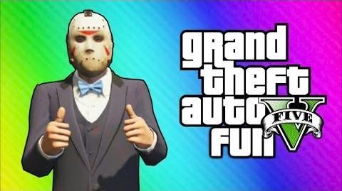 GTA 5 Online Funny Moments - Car Horn Orchestra, Freeze Glitch, New Lamborghini Car (High-Life DLC)