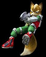 Fox with his blastet