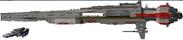 NDE Super Ship size comparison