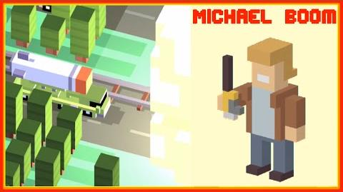UNLOCK ☆ Michael Boom ☆ An EXPLOSIVE Crossy Road Spectacular!