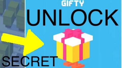 Crossy Road- Unlock Secret Character (Gifty)