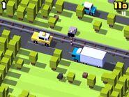 Kiwi crossy road game play