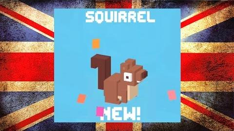 Squirrel ☆ Crossy Road ☆ How many Acorns can you collect?-0