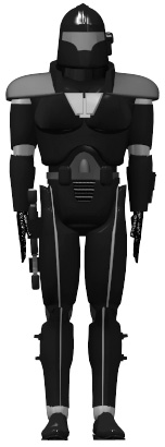 Elite storm trooper