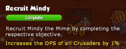 Recruit Mindy