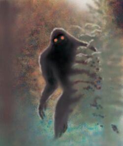 Bigfoot, red-eyes, Bill Rebsamen