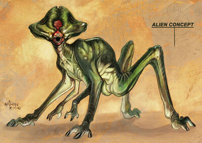 Creature concept 17 by nathanrosario