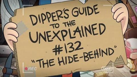The Hide-Behind - Gravity Falls - Dipper's Guide to the Unexplained