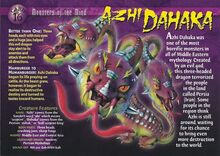 Azi Dahaka front