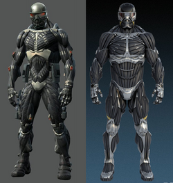 Nanosuit comparison