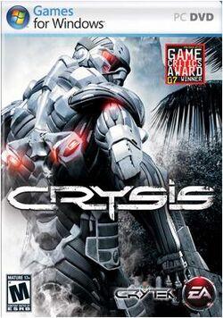 Crysis boxart