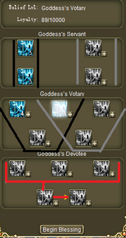 Goddess upgrade