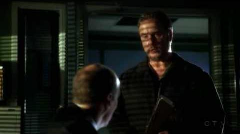 CSI Grissom and Ecklie