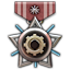 A medal given to a person who enhanced weapon for 100 times