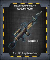 Skull6 indonesia poster