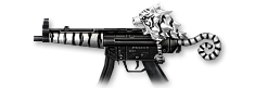 MP5 White Tiger