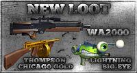 Code box wa2000 thompsong waterpistol sfgun m4a1g