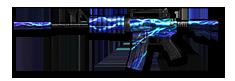M4A1 Blue Lightning