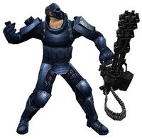 Bot heavy throw smoke grenade