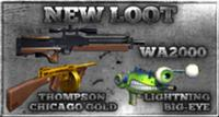 Code box wa2000 thompsong waterpistol sfgun m4a1g
