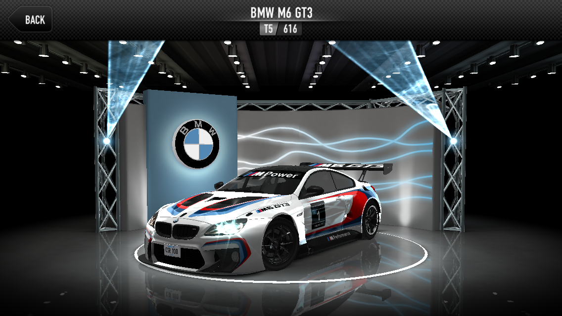 bmw m6 gt3 csr racing wiki fandom powered by wikia. Black Bedroom Furniture Sets. Home Design Ideas