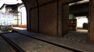 De train side alley