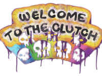 Welcome clutch large