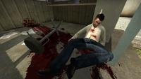 CSGO dead officer la nuke