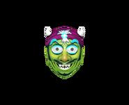 Csgo Facemask zombie fortune plastic
