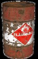 Exploding barrel css