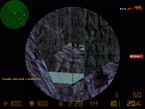 Cs desert0013 sniper-aiming at the combat zone