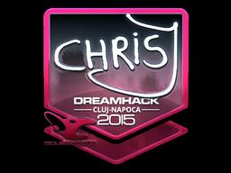 File:Csgo-cluj2015-sig chrisj foil large.png