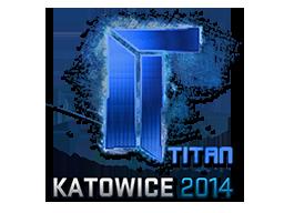 Sticker-katowice-2014-titan-holo