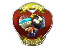 File:Csgo-stickers-slid3 capsule-dontworryigotcha foil.png