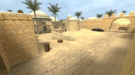 CSS Dust2 Outside Tunnel