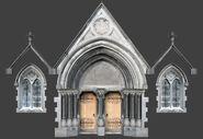 De vostok Church Main Entrance