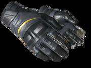 Motorcycle gloves motorcycle basic black light large