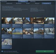 CSGO Competitive map selection screen
