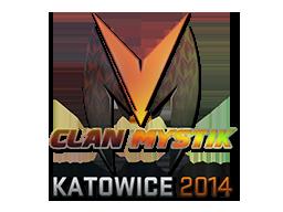Sticker-katowice-2014-mystik-holo