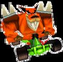 CTR Crash Team Racing Tiny Tiger