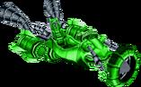 Crash Nitro Kart Boss Kart Green