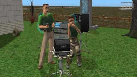 General Tank Grunt Sings with General Buzz Grunt